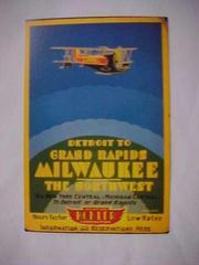 Kohler Airlines Reproduction Postcard