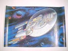 Poster, Next Generation Uss Enterprise Ncc-1701-d