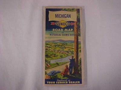 Map, Michigan Highway Map