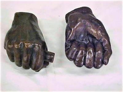 Casts Of Abraham Lincoln's Hands