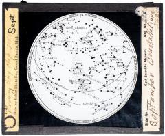 Lantern Slide, September Constellations