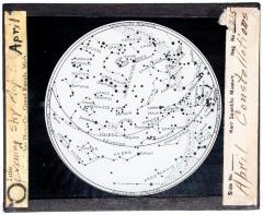 Lantern Slide, April Constellations