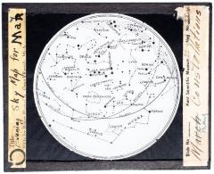 Lantern Slide, March Constellations