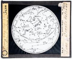 Lantern Slide, June Constellations