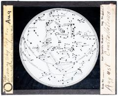 Lantern Slide, August Constellations