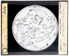 Lantern Slide, July Constellations
