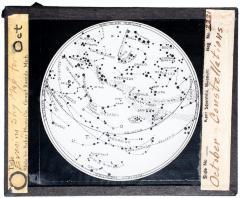 Lantern Slide, October Constellations