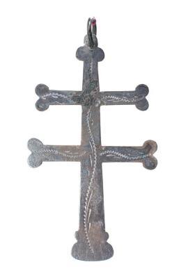 Double Bar Cross, Marked 'r.C.'