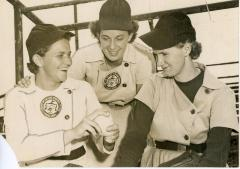 Photograph, Grand Rapids Chicks Pitchers, All-american Girls Baseball League Archival Collection #66