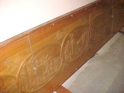 Carved Panel, History Of Michigan