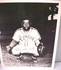Photograph, B&w, Reprint, Autographed, Ted 'double Duty' Radcliffe, Negro Baseball Leagues Archival Collection #113