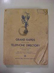 Grand Rapids Phone Directory, 1949