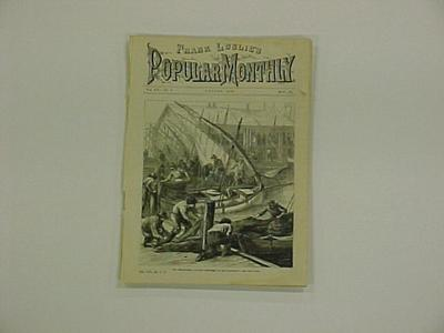 Magazine Article, Cover And 12 Page Article, Our Immigrants, Frank Leslie's Popular Monthly Magazine, August 1881