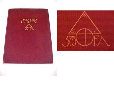 Book, The Red Guidon: 328 Field Artillery, 1919