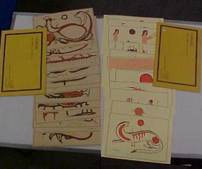 Prints, Series I And Series Ii, A Study Of Ojibwe Art