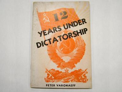 Booklet, 12 Years Under Dictatorship