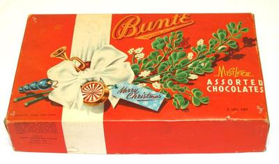 Candy Container, Mistletoe Assorted Chocolates