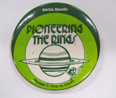 Promotional Button, Pioneering The Rings