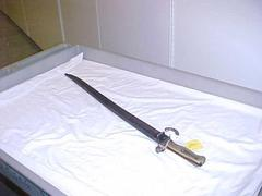 Bayonet And Sheath
