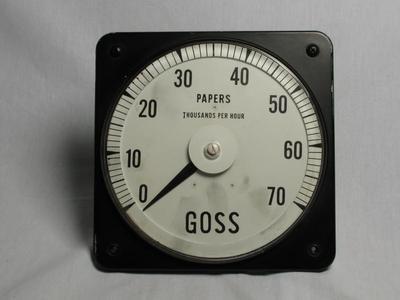 Tachometer, Paper