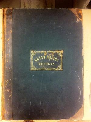 Sanborn Map, Grand Rapids, 1888