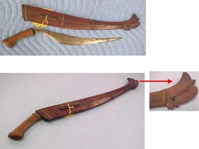 Bolo Knife And Sheath