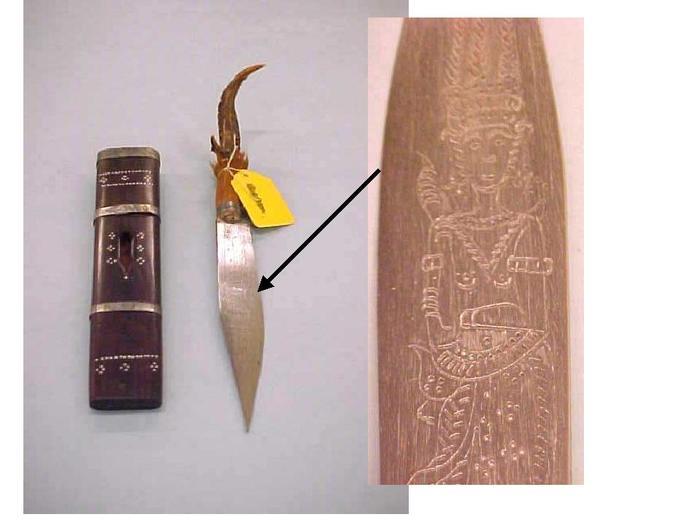Cambodian Dagger And Sheath