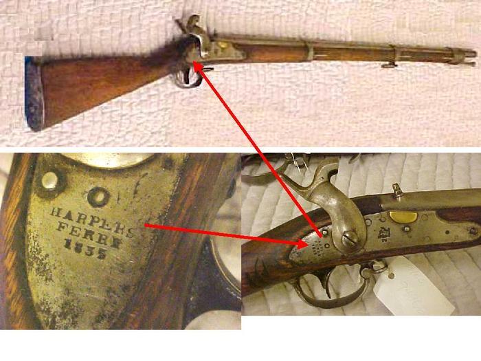 Bayonet, Model 1835, Harper's Ferry