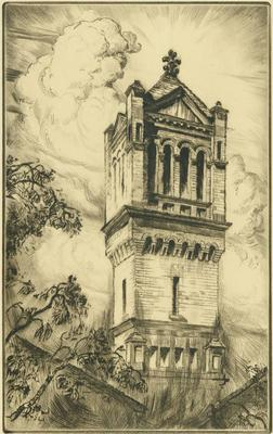 Print, 'Bell Tower (LaGrave Church) - State V (Final; Edition State)' (5 Of 5)