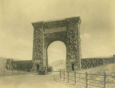 Photograph, Arch At Yellowstone National Park