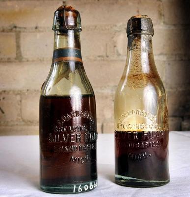 Miniature Bottle, Grand Rapid Brewing Company