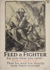Poster, Feed A Fighter