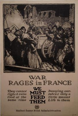 Poster, War Wages In France