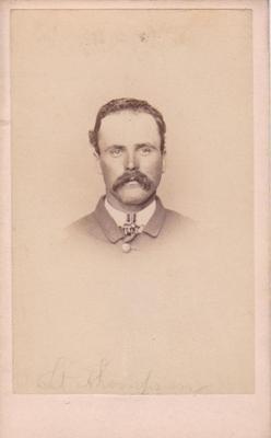 Photograph, James L. Thompson