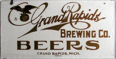 Sign, Grand Rapids Brewing Company Beers