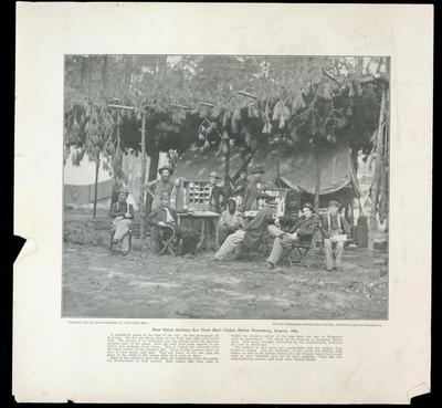 Print, How Union Soldiers Got Their Mail