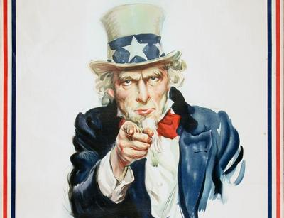 Poster, I Want You Uncle Sam;Poster, I Want You Uncle Sam