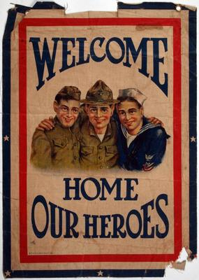 Poster, Welcome Home Our Heroes