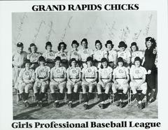 Photograph, Team Photo Of The Grand Rapids Chicks,  All-American Girls Baseball League Archival Collection #66