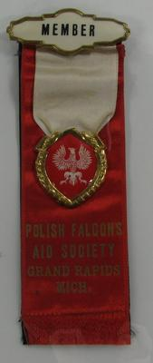 Ribbon, Polish American Archival Collection #127