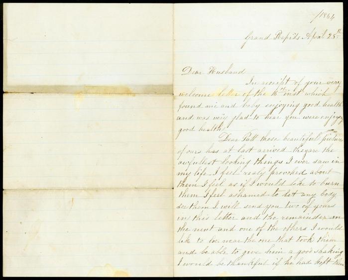Letter, Bridget Kelly To Patrick Kelly