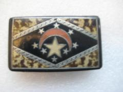 Snuff Box With Star And Crescent Moon