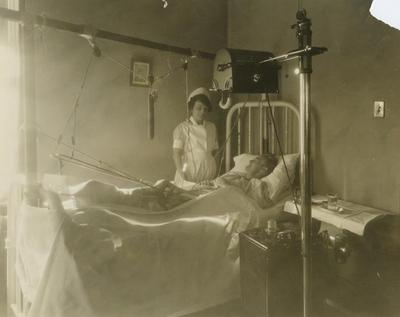 Photograph, Nurse And Recovering Patient