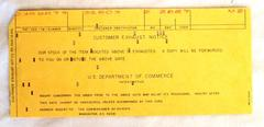 "Correspondence Customer Exhaust Notice"""