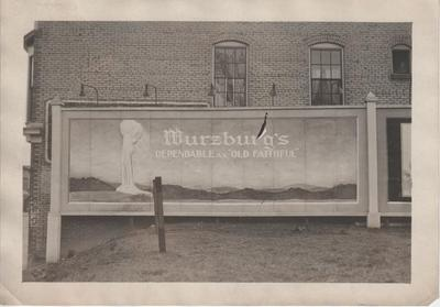 Billboard for Wurzburg's Department Store