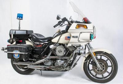 Harley-davidson Police Motorcycle, Grand Rapids Police Department