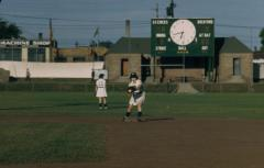 Slide, Marilyn ״Corky״ Olinger, All-American Girls Professional Baseball League