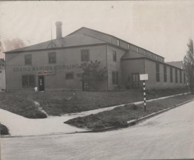 Photograph, Grand Rapids Curling Rink