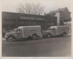 Photograph, White Motor Company Delivery Truck, Gordon-Van Cheese Company, Grand Rapids Michigan