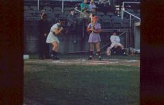 Slide, Thelma Eisen at Bat, All-American Girls Professional Baseball